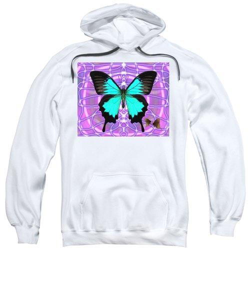 Butterfly Patterns 19 Sweatshirt