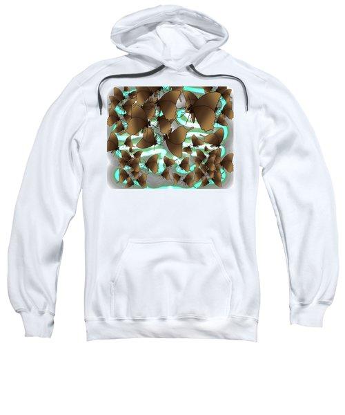 Butterfly Patterns 4 Sweatshirt