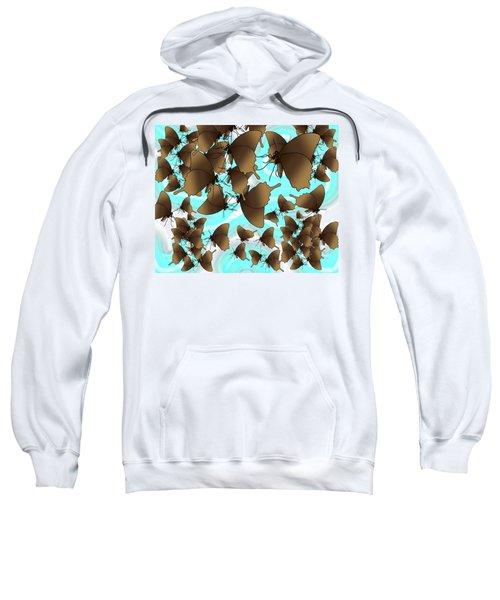 Butterfly Patterns 6 Sweatshirt