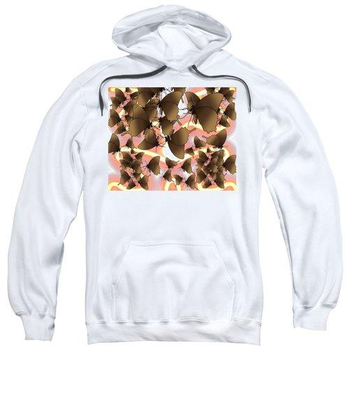 Butterfly Patterns 8 Sweatshirt