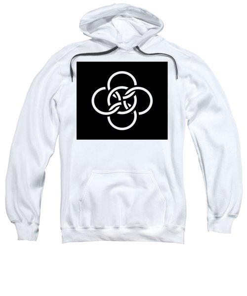 Celtic Five Fold Symbol 2 Sweatshirt