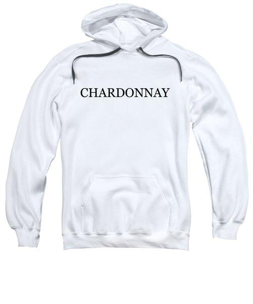 Chardonnay Wine Costume Sweatshirt