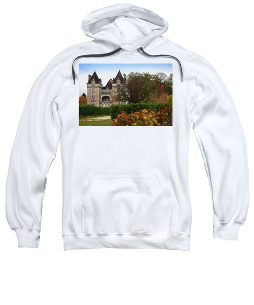Chateau, Near Beynac, France Sweatshirt