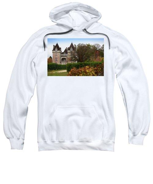 Chateau, Near Beynac, France Sweatshirt