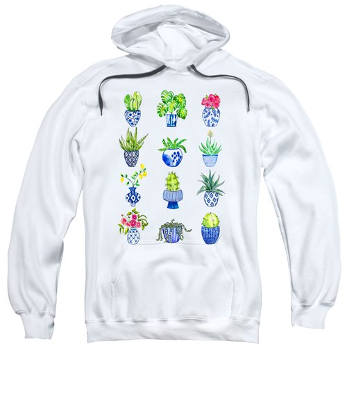 Chinoiserie Cactus Collection Sweatshirt