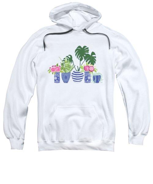 Chinoiserie Garden Sweatshirt