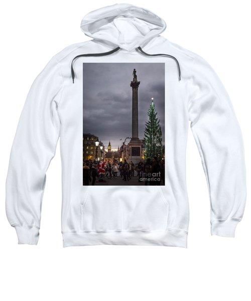 Christmas In Trafalgar Square, London Sweatshirt