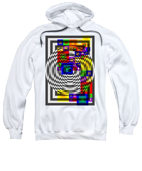 Circular Colour Fusion  Sweatshirt