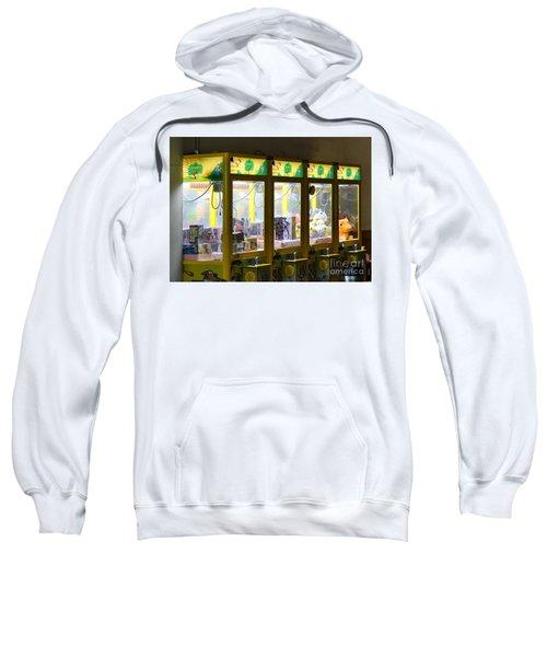Claw Crane Game Machines In Taiwan Sweatshirt