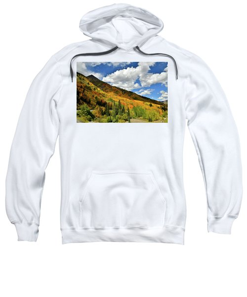 Color In The Spotlight At Red Mountain Pass Sweatshirt