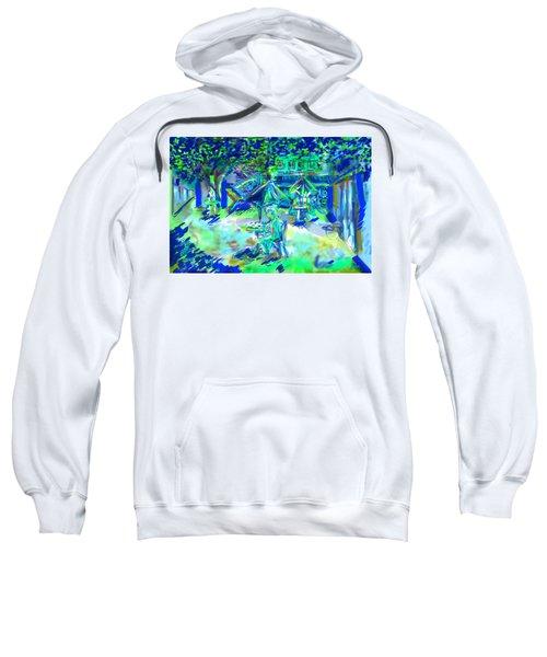 Colorful Courtyard Sweatshirt