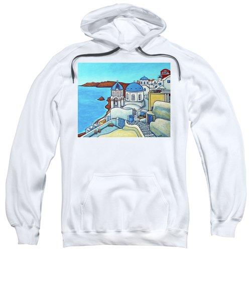 Colours Of Santorini Sweatshirt