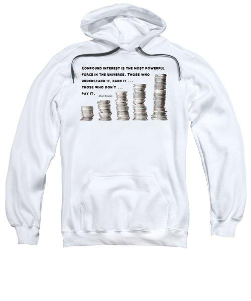 Compound Interest - Albert Einstein Sweatshirt