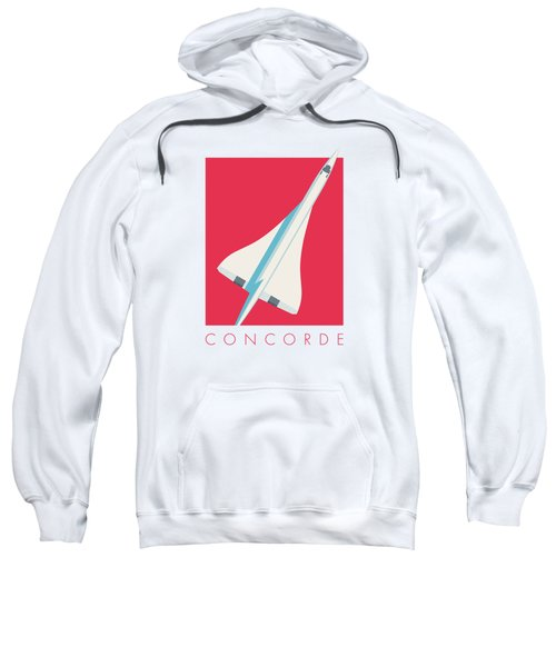 Concorde Jet Airliner - Crimson Sweatshirt
