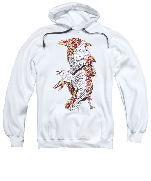 Cool Bird Illustration Sweatshirt