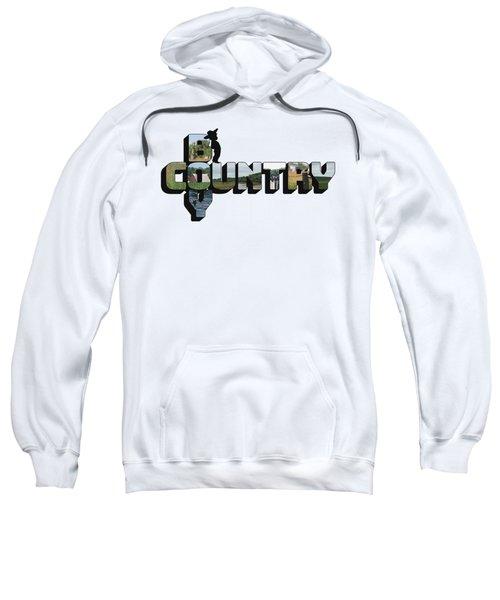 Country Boy Big Letter Sweatshirt