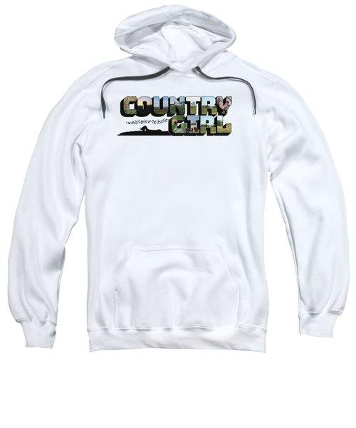 Country Girl Big Letter Sweatshirt
