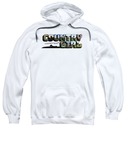 Country Girl Big Letter Sweatshirt