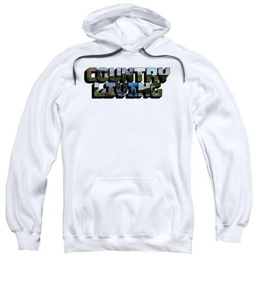 Country Living Big Letter Sweatshirt