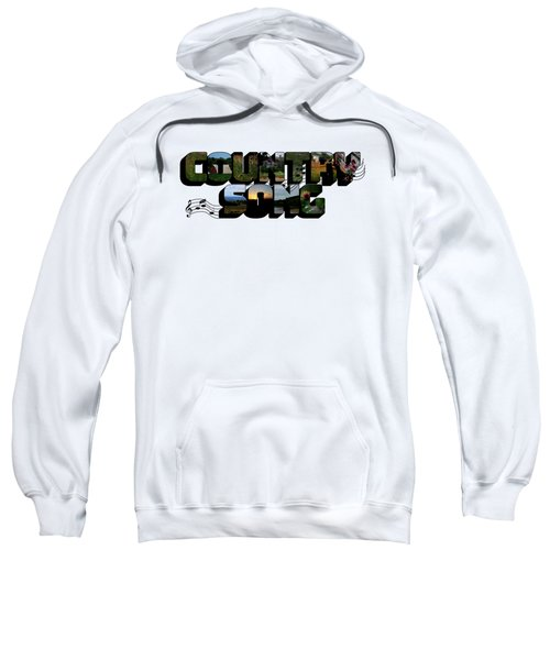 Country Song Big Letter Sweatshirt