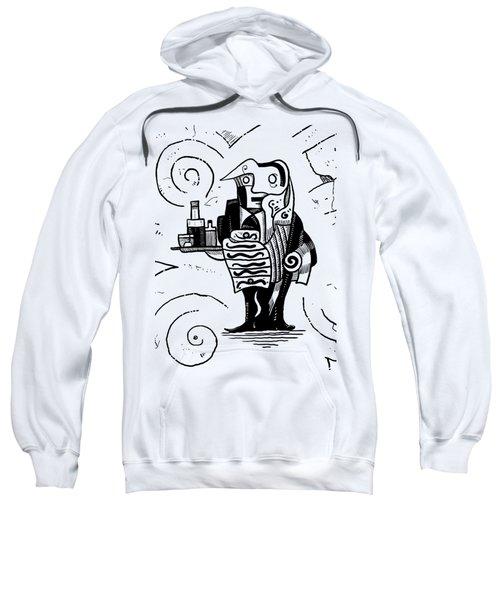 Cubist Waiter Sweatshirt