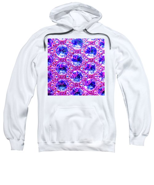 Cut Glass Beads 4 Sweatshirt