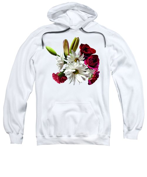 Daisies, Roses And Carnations Sweatshirt