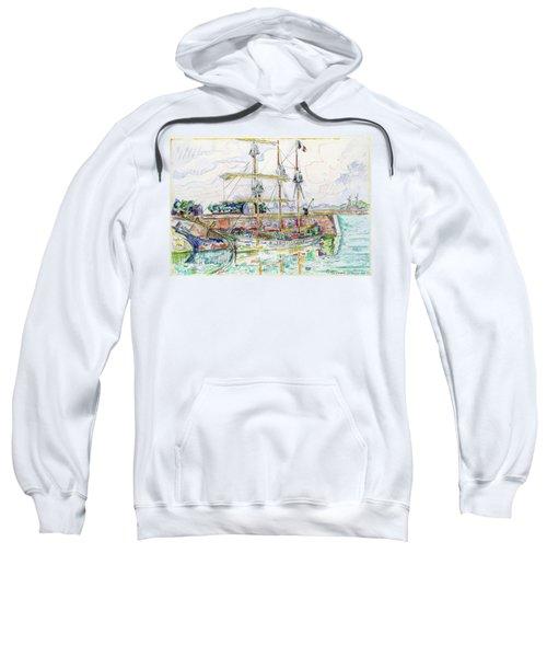Docks At Saint Malo - Digital Remastered Edition Sweatshirt