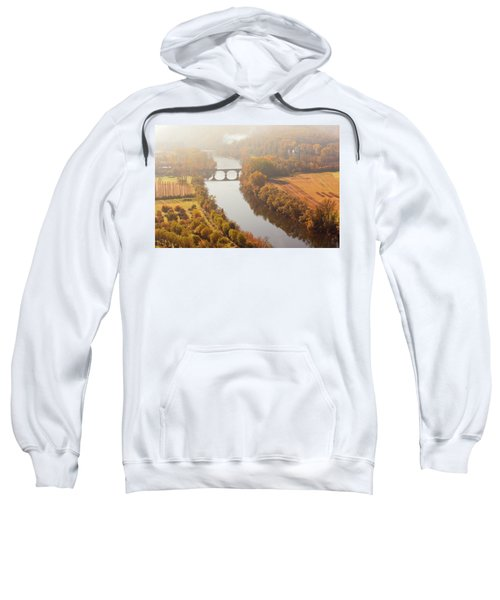 Dordogne River In The Mist Sweatshirt