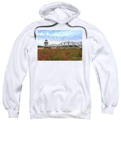 Doubling Point Lighthouse In Maine Sweatshirt