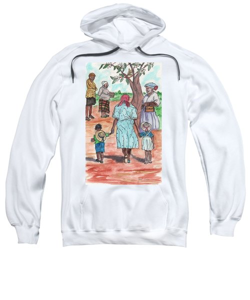 Down The Red Road And Past The Magnolia Tree Sweatshirt