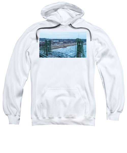 Downtown Stillwater Liftbridge Towers Sweatshirt