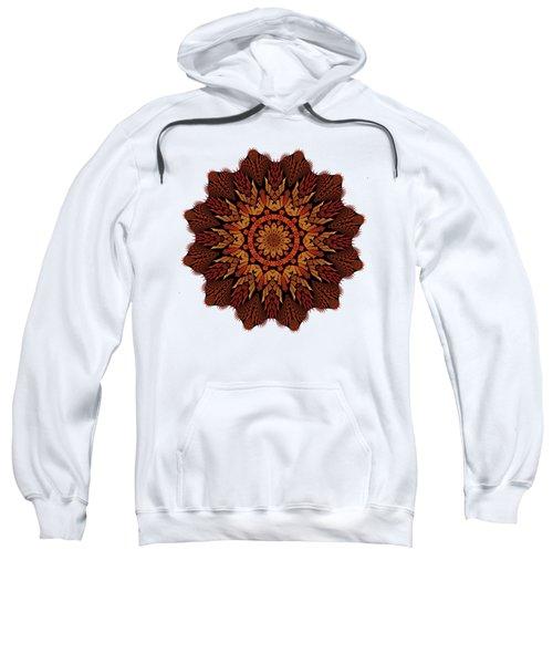 Dragon Clock Medallion For Apparel Sweatshirt