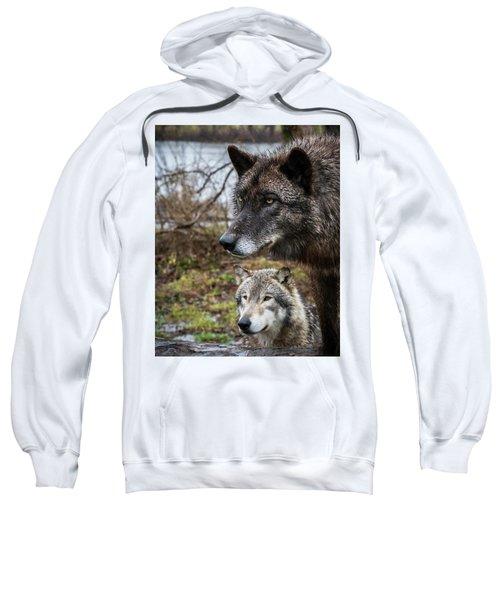 Dual Wolves Sweatshirt
