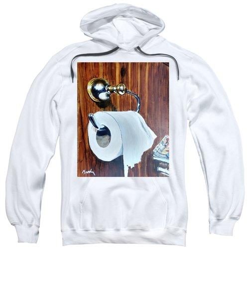 Duchamp's Paperwork Sweatshirt
