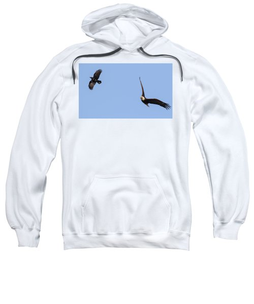 Eagle And Crow  Sweatshirt