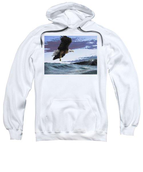 Eagle In Flight Sweatshirt
