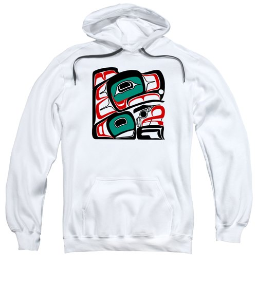 Eagle - Northwest Coast Formline Design Sweatshirt