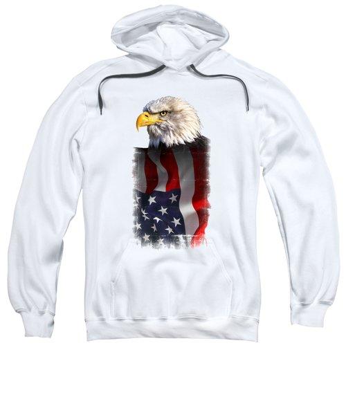 Eagle Of The United States T-shirt Sweatshirt