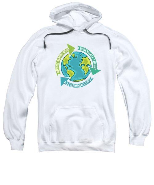 Earth Sustainability Sweatshirt