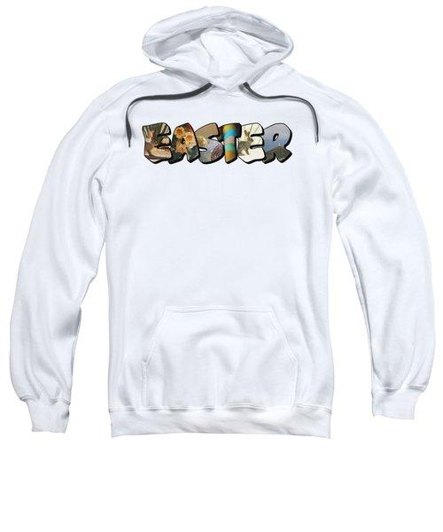 Easter Big Letter Sweatshirt