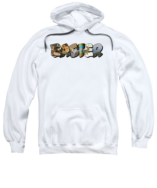 Easter Big Letter Sweatshirt