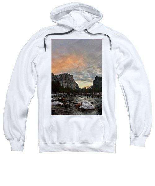 El Capitan At Sunset Sweatshirt