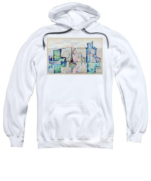 Entrance To The Harbor Of La Rochelle - Digital Remastered Edition Sweatshirt