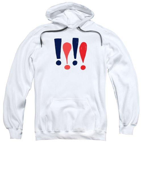 Exclamations Pop Art Sweatshirt