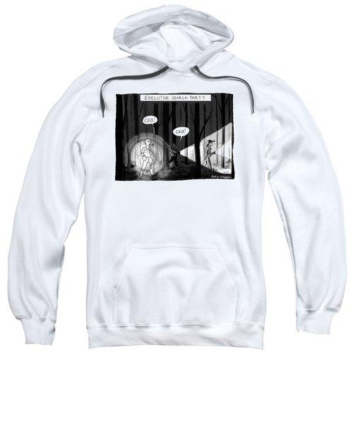 Executive Search Party Sweatshirt