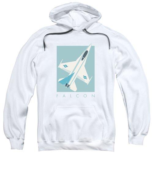 F-16 Falcon Fighter Jet Aircraft - Sky Sweatshirt