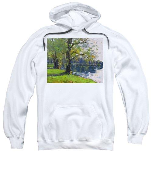 Fall At Bond Lake Park Sweatshirt