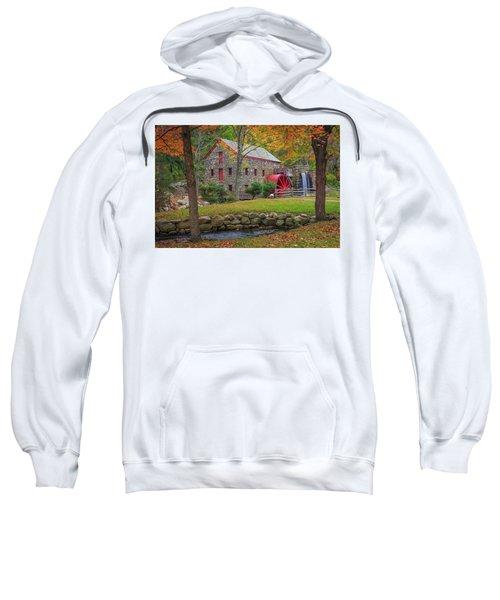 Fall Foliage At The Grist Mill Sweatshirt