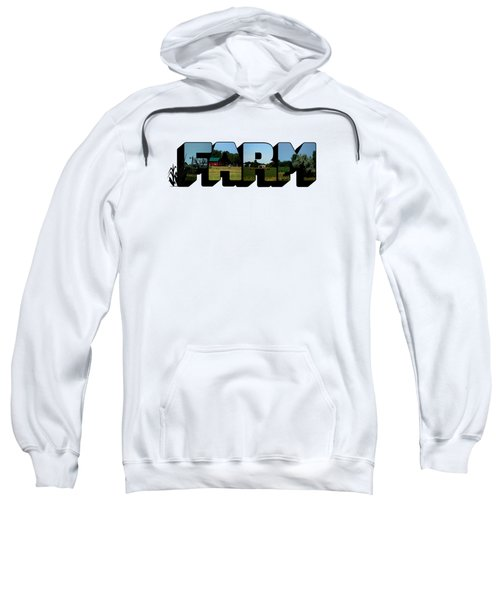Farm Big Letter Sweatshirt